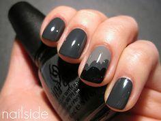 Grey cloud nails
