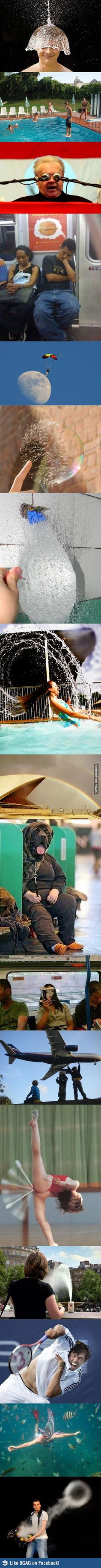 Perfectly-timed photos