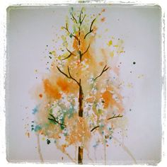 Tree - watercolor -