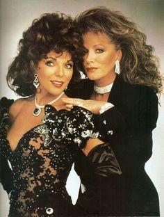 Joan & Jackie Collins