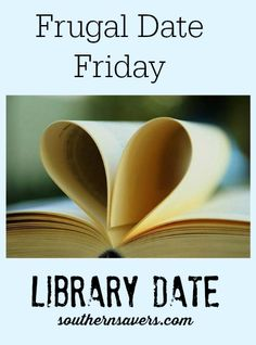 Head out to the library for this frugal date Friday idea!