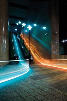 light, line,movement