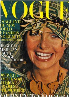 Jan de Villeneuve  Vogue British  1971