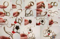 Paper Roll Puppy Craft