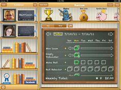 iallowance - my favorite new app ... tracks chores/responsibilities, rewards, allowance, spending - just awesome! cleanses, kid app, amaz app, children, chore idea, blog, kid stuff, calendar, board idea