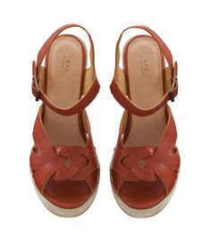 APC Braided sandals