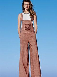 embroid farrah, style, cloth, farrah jumpsuit, free peopl