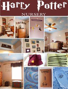 DIY Harry Potter Nursery   @Eric Lee Lee Lee Lee Lee Lee Lee Lee Sentell Please?!?!