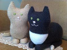 Ravelry: The Parlor Cat pattern by Sara Elizabeth Kellner