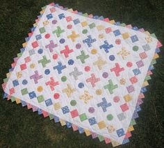 Baby quilt  So cute!!!
