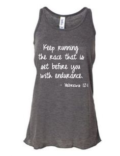 Running tank top for women's  running tops for by runningonthewall, $26.00 - Love this!