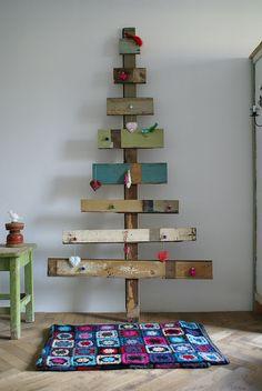 wood & wool x-mas tree | Flickr - Photo Sharing!