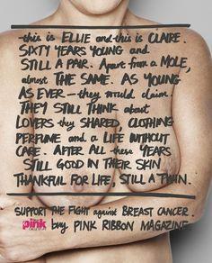 Pink Ribbon Magazine: Circle of life, Old