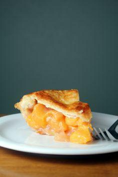 peach pie! yum