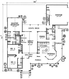 colonial house plans with wrap around porch colonial home plan - Porch Floor Plans