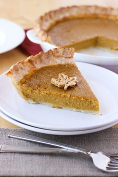 dairy-free pumpkin pie - uses coconut milk