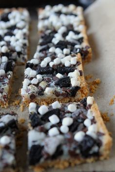 Oreo Smore Magic Bars