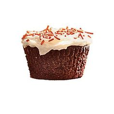 Chocolate Cupcakes with Vanilla Cream Cheese Frosting   CookingLight.com