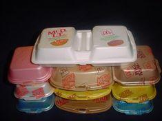 Styrofoam McDonald's containers