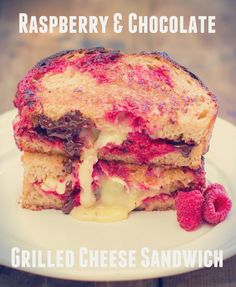 Roasted Raspberry & Chocolate Grilled Cheese!  This recipe is going live shortly in the Cooking Stoned newsletter: http://www.cookingstoned.tv/#newsletter