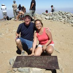 Mt. San Antonio (Mt. Baldy) Summit, San Gabriel Mountains, California