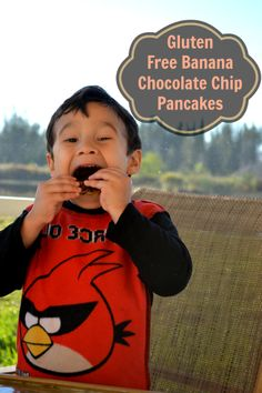 Chocolate Chip Gluten Free Pancakes