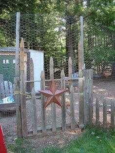 Homespun gate