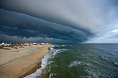 Storm Front on the Outer Banks, North Carolina