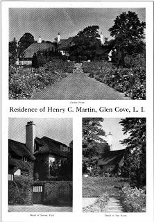 Old Long Island: The Henry C. Martin Estate designed by Harrie Lindeberg c. 1914 in Glen Cove.
