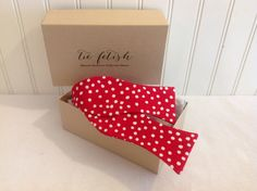 Red polka dot self t