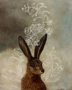 Rabbit Rabbit!     anne siems, rabbit plant