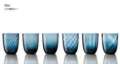 Nason Moretti Murano Glass, Idra Blue Avio