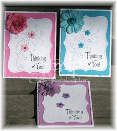 Inspiration Blooms: Fred She Said paper pricking templates
