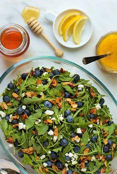 blueberry-arugula-salad-with-honey-lemon-dressing