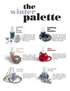 Top 6 Winter Palette