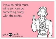 Wine Cork Crafts ... As soon as I can start drinking again ;) ;) @Rosa Hans Hans Hans Camacho idea, wine corks, drinking, giggl, funni, wine crafts, humor, drinks, wine cork crafts