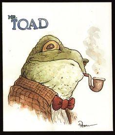 Mr. Toad Comic Art