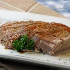 This Pork Roast is tangy and delicious. Try it and I think you just might find you love it.