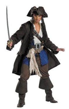 Capitan Jack Sparrow Costume
