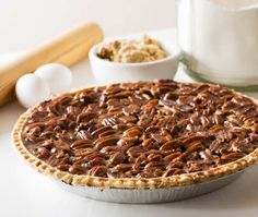 Toasted pecans taste even better in the sweet maple filling of this heavenly diabetic pie recipe, yet it has a fraction of the usual carbs.
