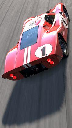 Ford Mark IV Race Car