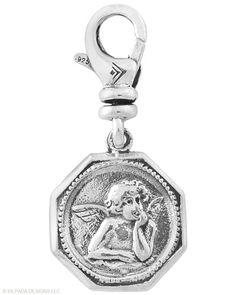 Guardian #Angel #Charm. #Sterling #Silver. #Silpada #Jewelry