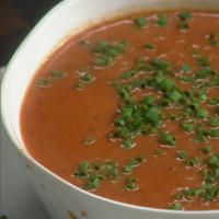 Rachael's fresh and fast tomato soup pairs perfectly with grilled cheese.