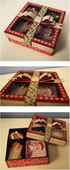 Christmas Tag Box <3