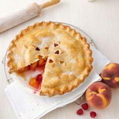 Peach-Raspberry Pie