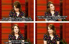 Tina Fey Talking About Her Daughter Alice on the TODAY Show