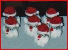 Baby Food Jar Santa Candy Jar