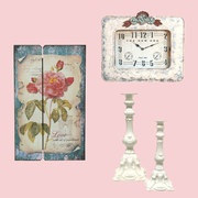 Take a look at the Cozy Cottage: Home Décor event on #zulily today!  Shabby Chic and great prices too!