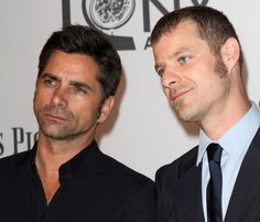 John Stamos and Matt Stone. What is happening at the #TonyAwards?!?