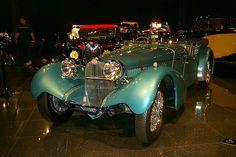 1937 Bugatti Type 57SC Roadster by Vanden Plas